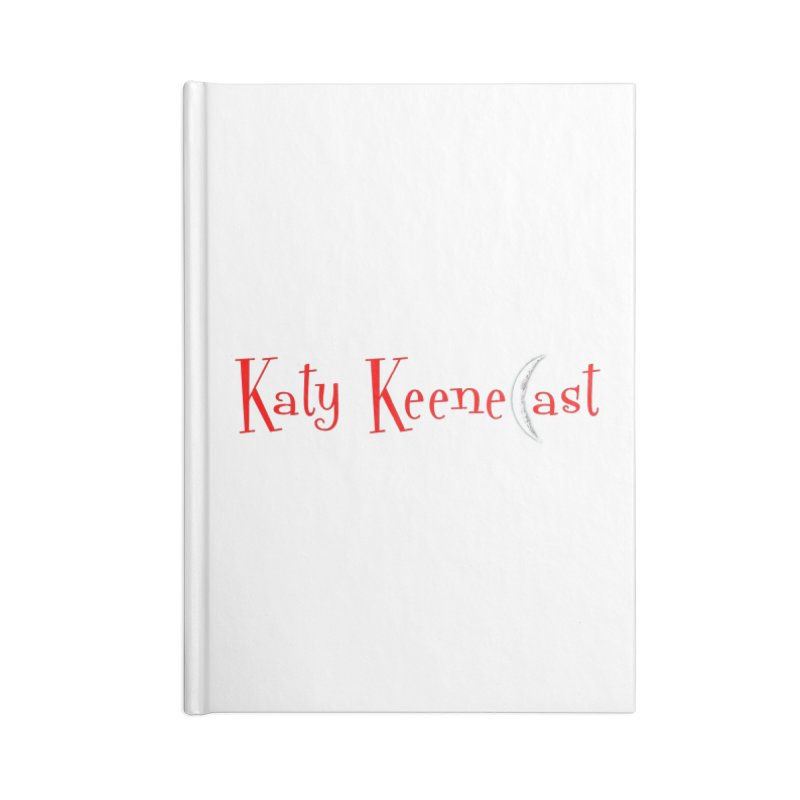 Katy KeeneCast Logo Accessories Blank Journal Notebook by Comic Book Club Official Shop