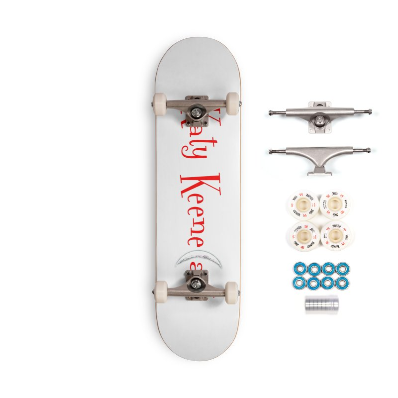 Katy KeeneCast Logo Accessories Skateboard by Comic Book Club Official Shop