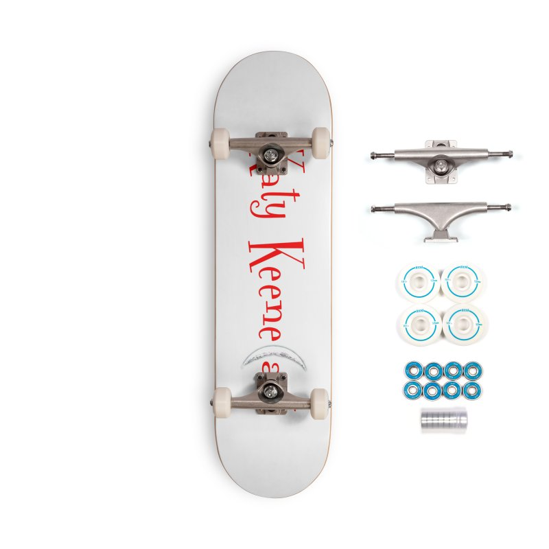 Katy KeeneCast Logo Accessories Complete - Basic Skateboard by Comic Book Club Official Shop