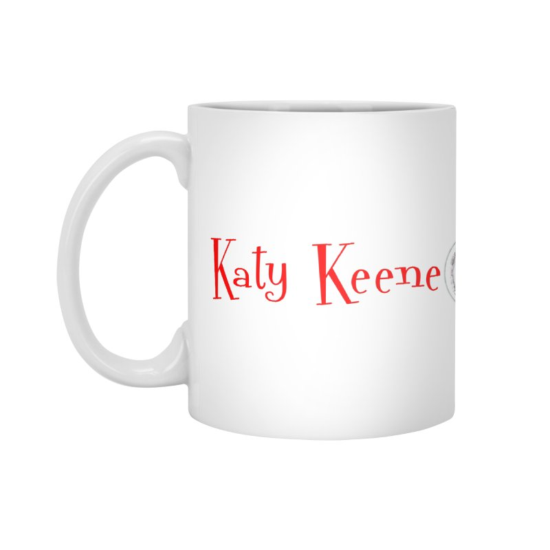 Katy KeeneCast Logo Accessories Mug by Comic Book Club Official Shop