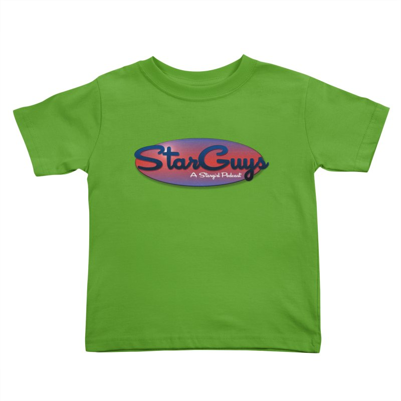 Starguys: A Stargirl Podcast Kids Toddler T-Shirt by Comic Book Club Official Shop