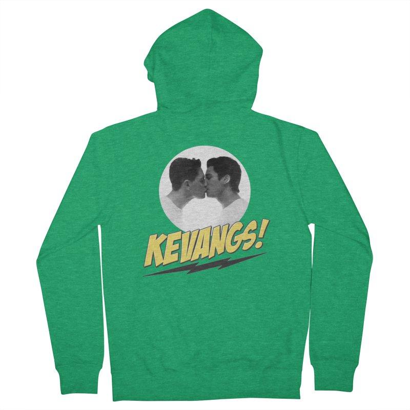 Kevangs! Men's Zip-Up Hoody by Comic Book Club Official Shop