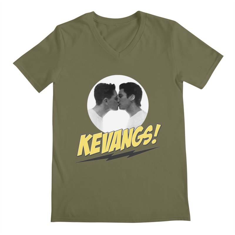 Kevangs! Men's V-Neck by Comic Book Club Official Shop