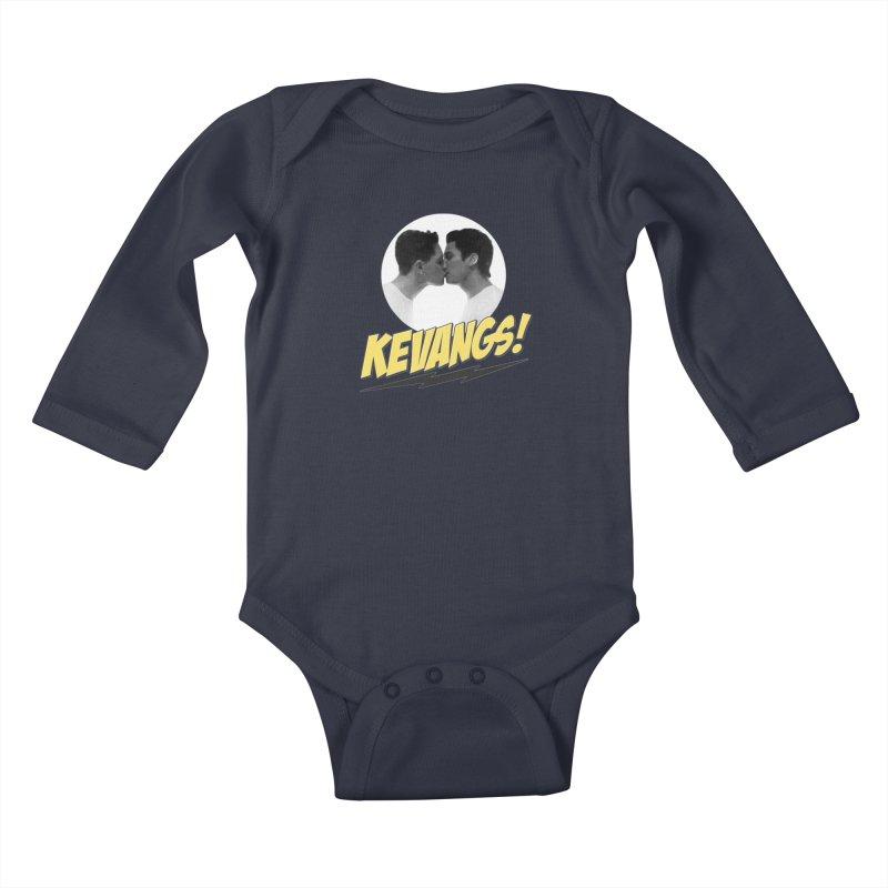 Kevangs! Kids Baby Longsleeve Bodysuit by Comic Book Club Official Shop