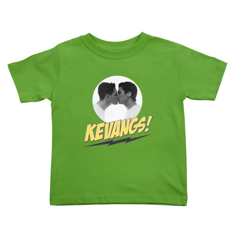 Kevangs! Kids Toddler T-Shirt by Comic Book Club Official Shop