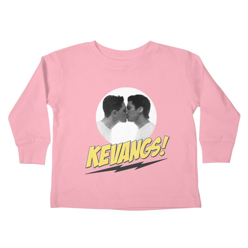 Kevangs! Kids Toddler Longsleeve T-Shirt by Comic Book Club Official Shop