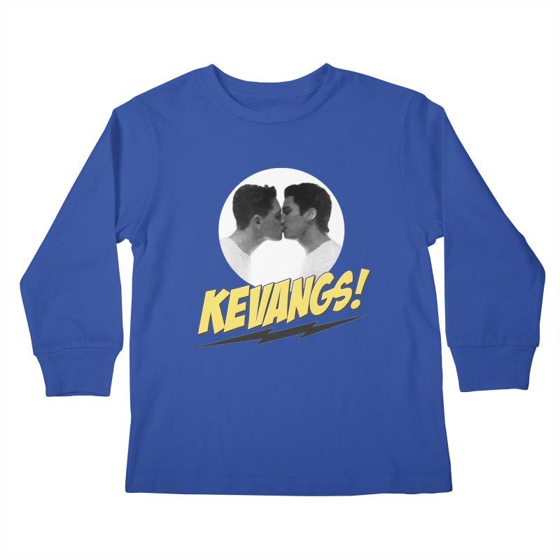 Kevangs! Kids Longsleeve T-Shirt by Comic Book Club Official Shop