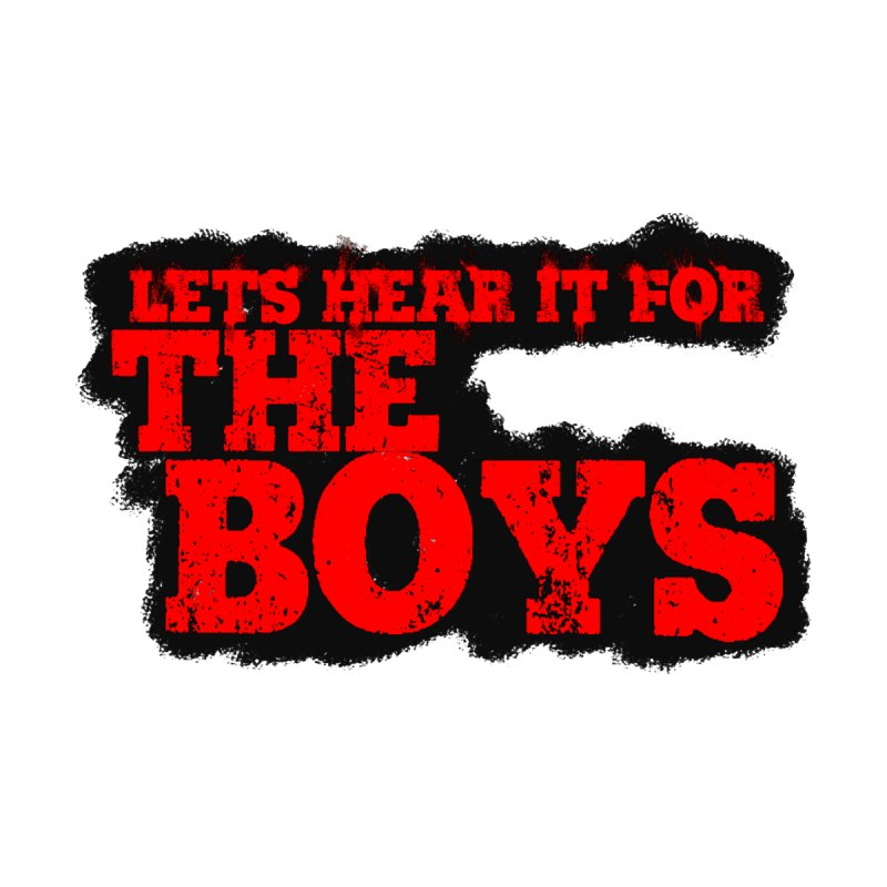 Let's Hear It For The Boys Men's V-Neck by Comic Book Club Official Shop