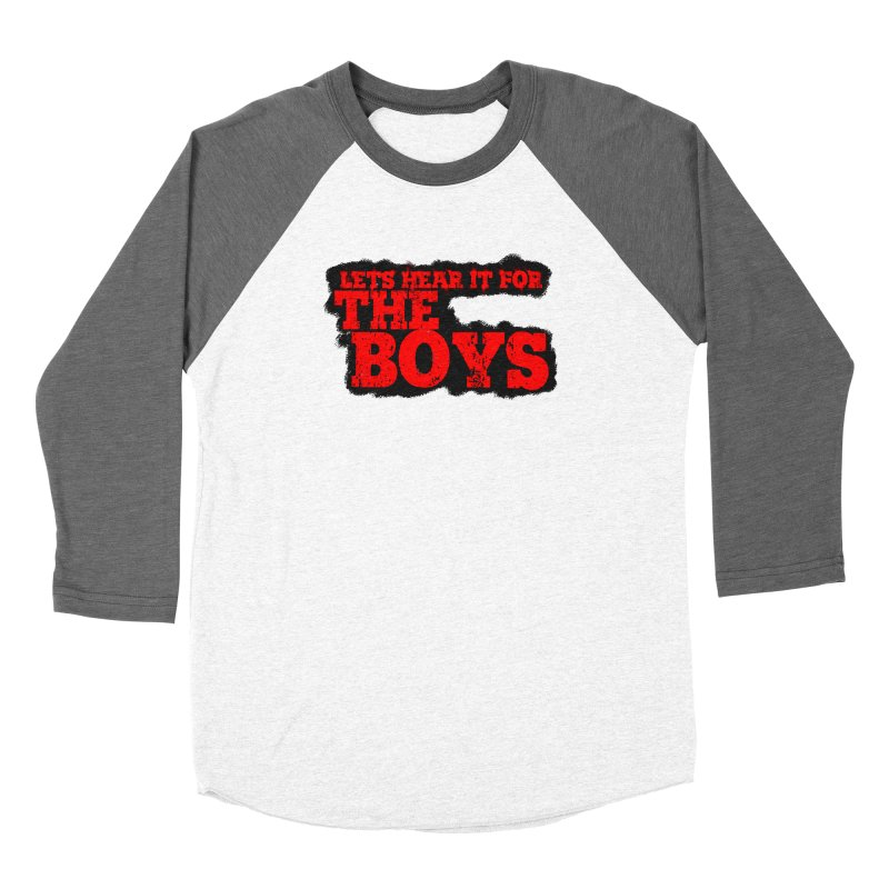 Let's Hear It For The Boys Women's Longsleeve T-Shirt by Comic Book Club Official Shop