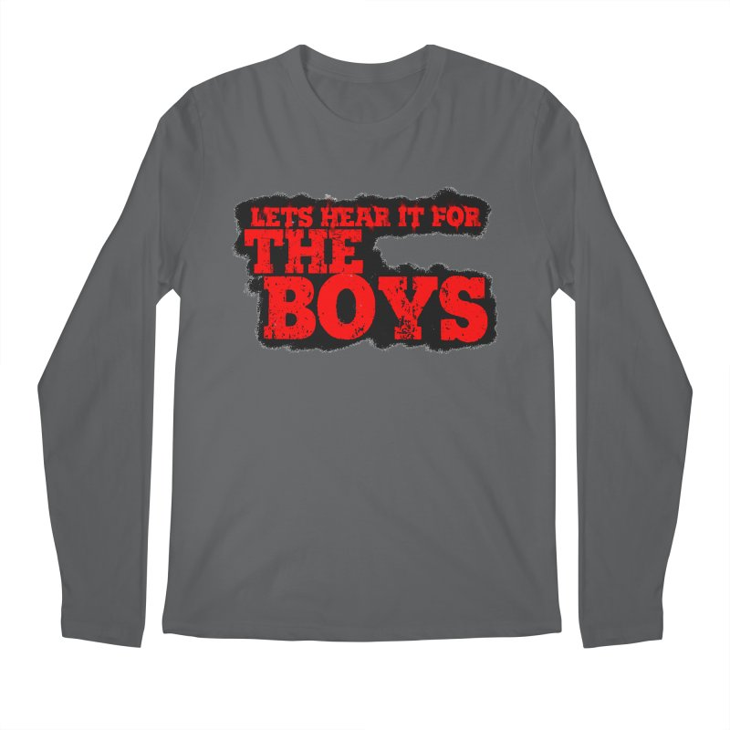 Let's Hear It For The Boys Men's Longsleeve T-Shirt by Comic Book Club Official Shop