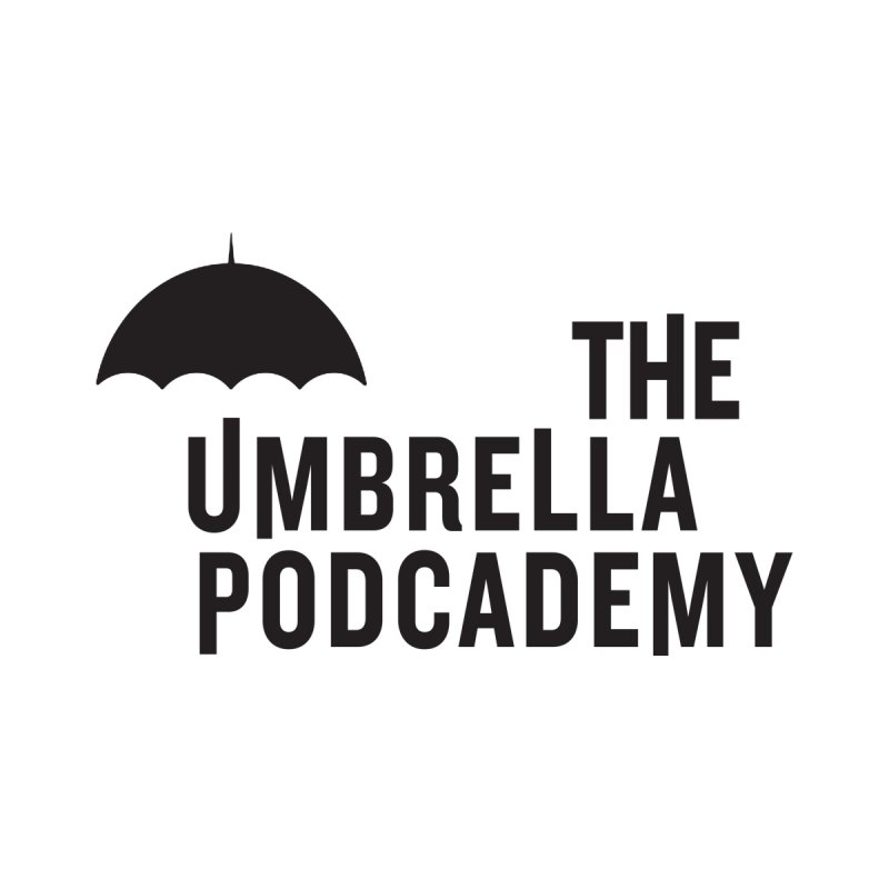 The Umbrella Podcademy Home Stretched Canvas by Comic Book Club Official Shop