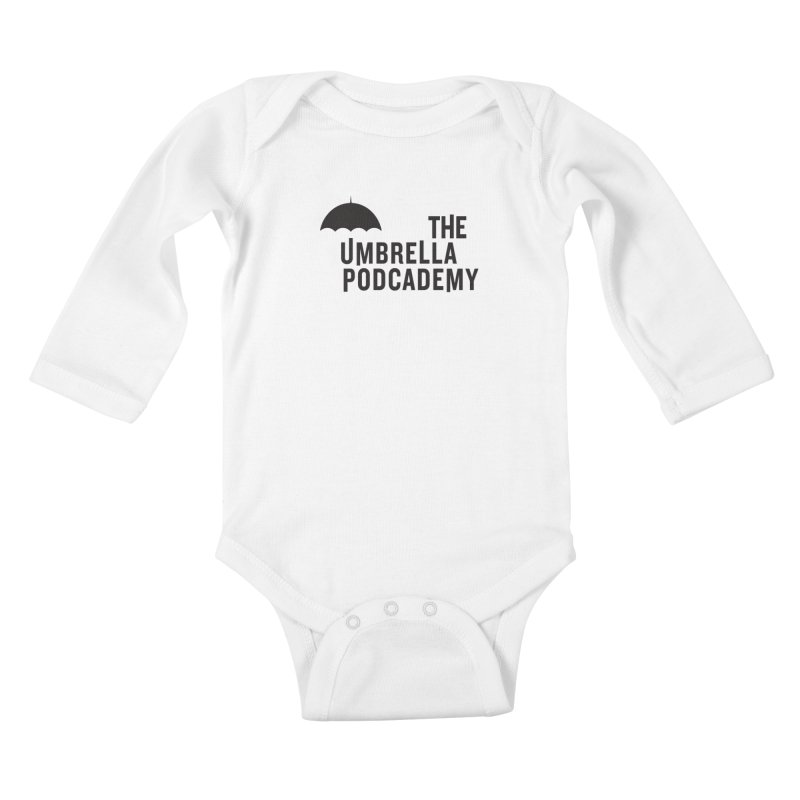 The Umbrella Podcademy Kids Baby Longsleeve Bodysuit by Comic Book Club Official Shop