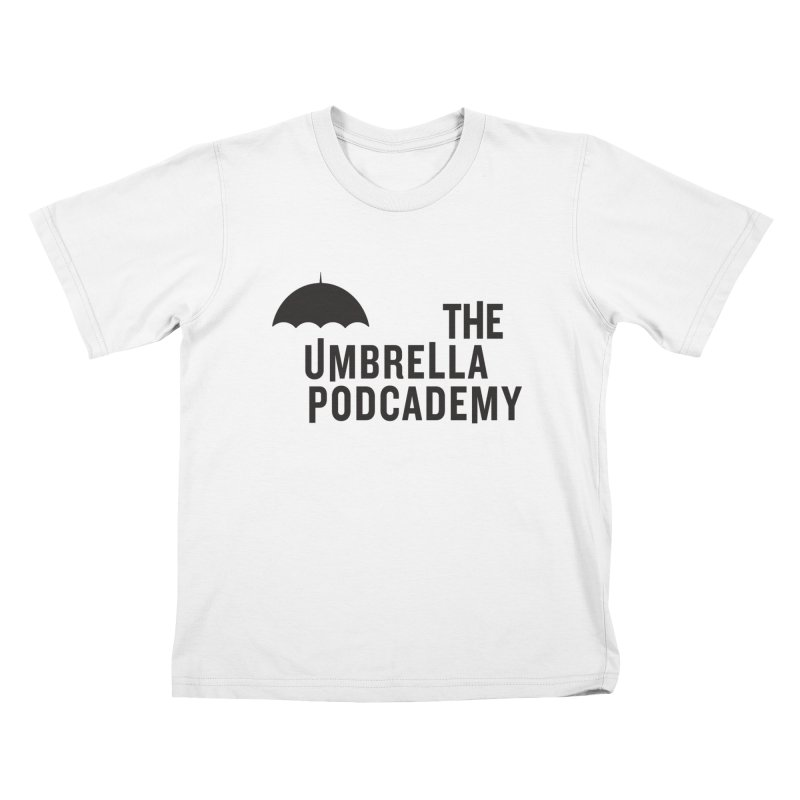 The Umbrella Podcademy Kids T-Shirt by Comic Book Club Official Shop
