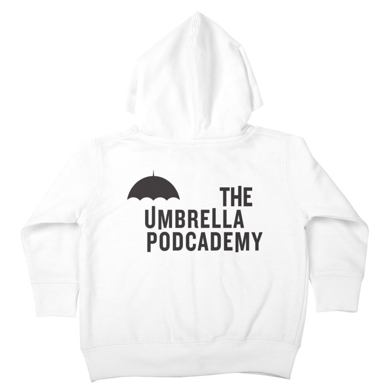 The Umbrella Podcademy Kids Toddler Zip-Up Hoody by Comic Book Club Official Shop