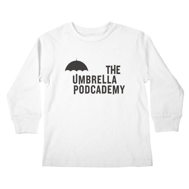 The Umbrella Podcademy Kids Longsleeve T-Shirt by Comic Book Club Official Shop