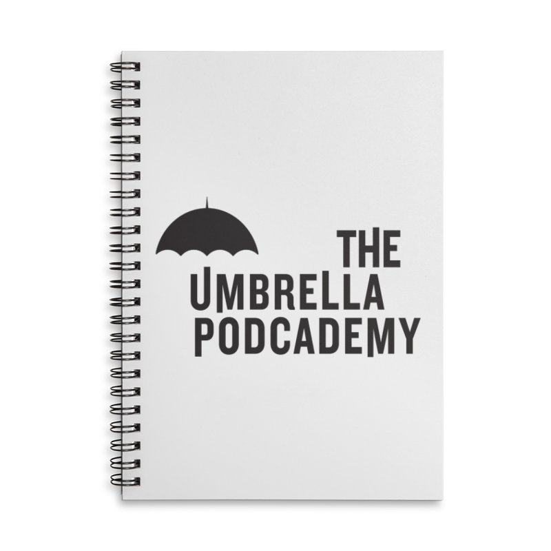 The Umbrella Podcademy Accessories Notebook by Comic Book Club Official Shop