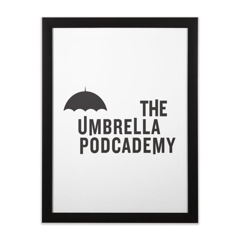 The Umbrella Podcademy Home Framed Fine Art Print by Comic Book Club Official Shop