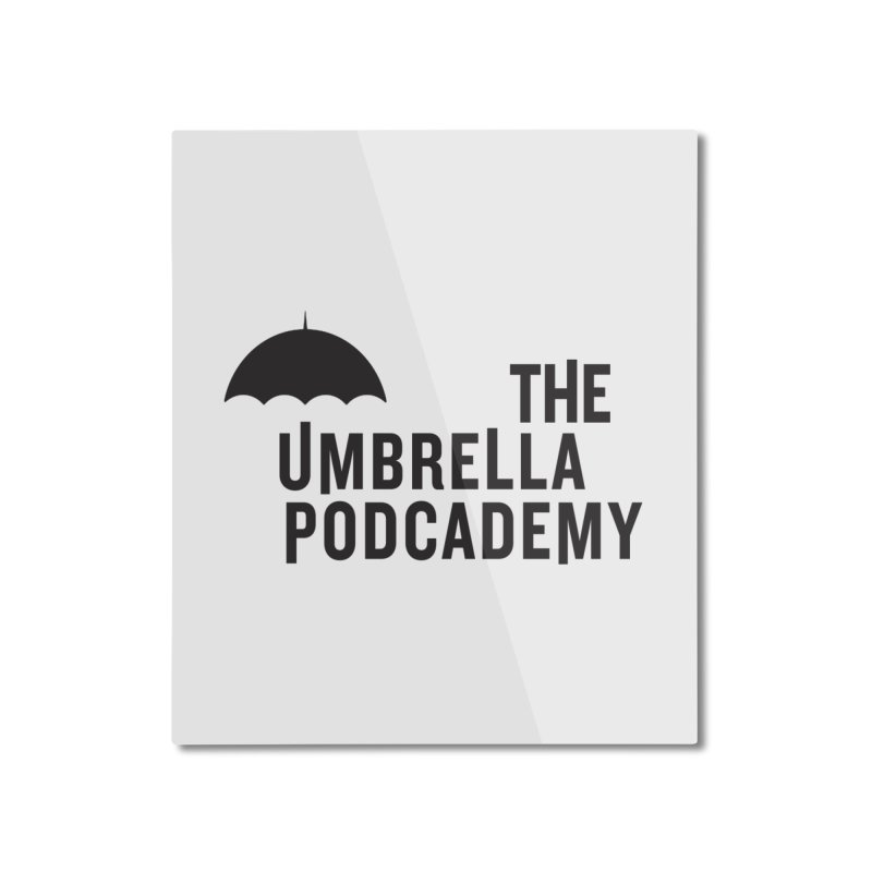 The Umbrella Podcademy Home Mounted Aluminum Print by Comic Book Club Official Shop