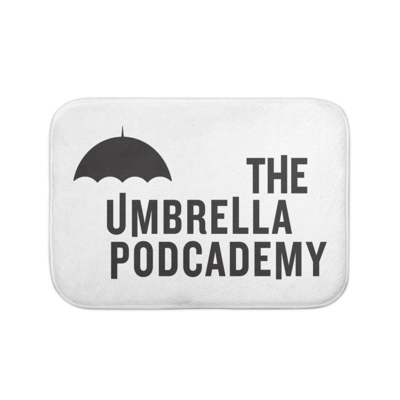 The Umbrella Podcademy Home Bath Mat by Comic Book Club Official Shop