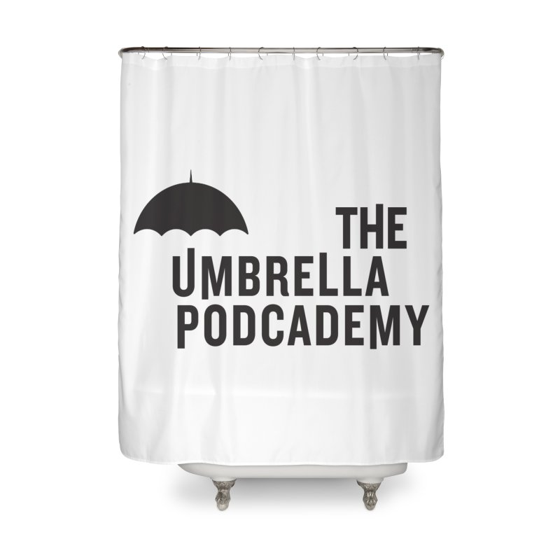 The Umbrella Podcademy Home Shower Curtain by Comic Book Club Official Shop