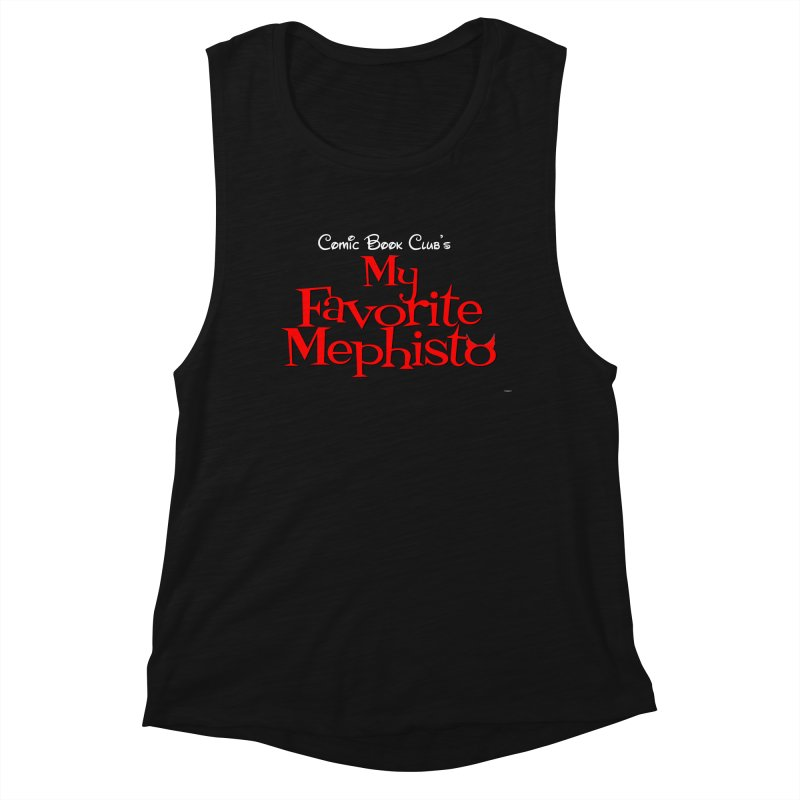My Favorite Mephisto Women's Tank by Comic Book Club Official Shop