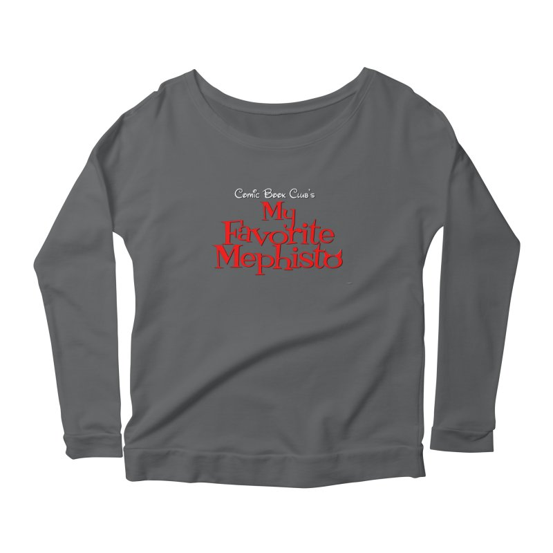 My Favorite Mephisto Women's Longsleeve T-Shirt by Comic Book Club Official Shop
