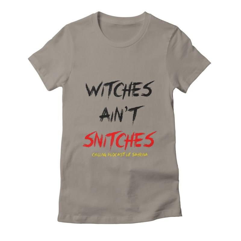 Witches Ain't Snitches Women's T-Shirt by Comic Book Club Official Shop