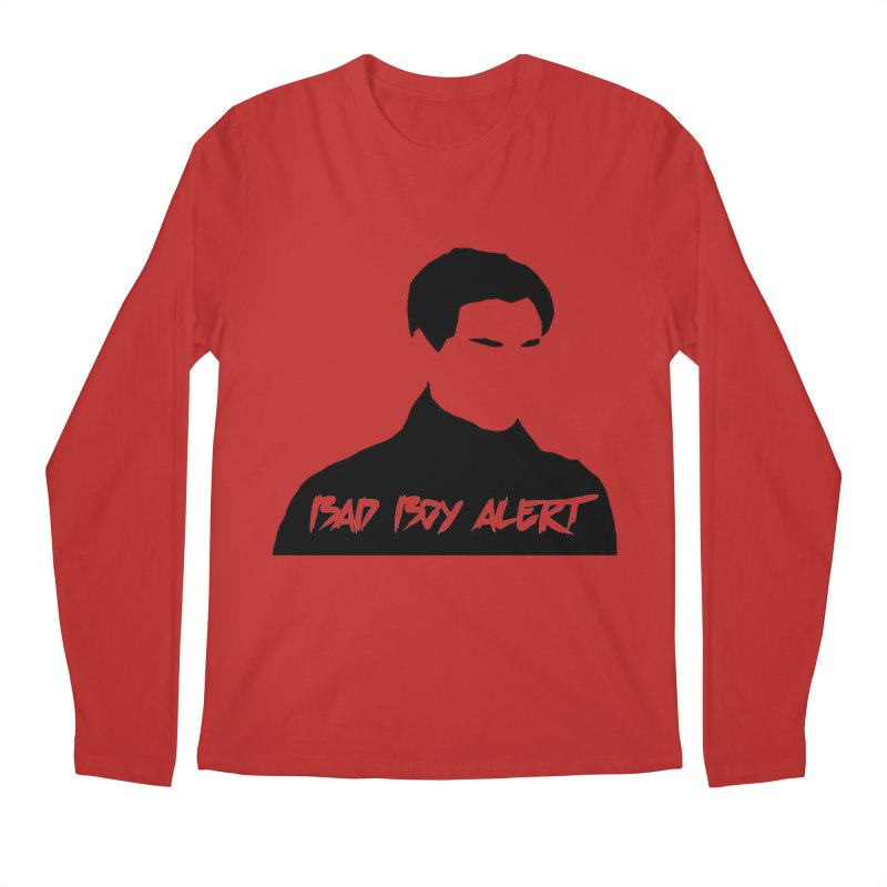Bad Boy Alert Men's Regular Longsleeve T-Shirt by Comic Book Club Official Shop