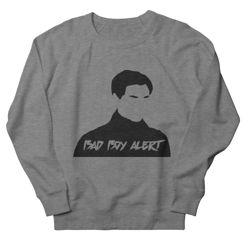 Bad Boy Alert Women's Sweatshirt by Comic Book Club Official Shop