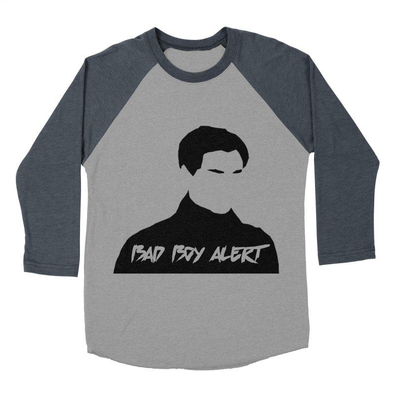 Bad Boy Alert Women's Baseball Triblend Longsleeve T-Shirt by Comic Book Club Official Shop