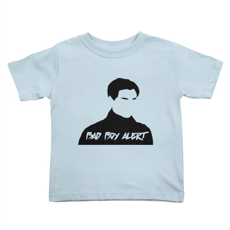Bad Boy Alert Kids Toddler T-Shirt by Comic Book Club Official Shop