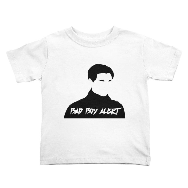 Bad Boy Alert Kids Toddler T-Shirt by Comic Book Club Official Shop