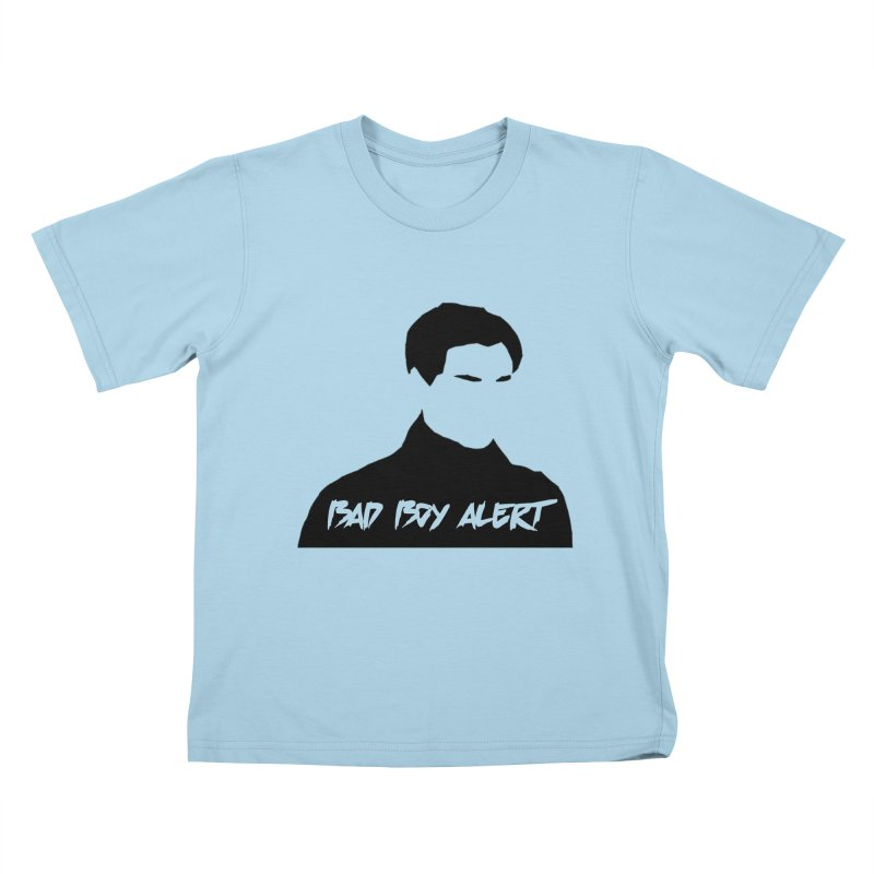 Bad Boy Alert Kids T-Shirt by Comic Book Club Official Shop