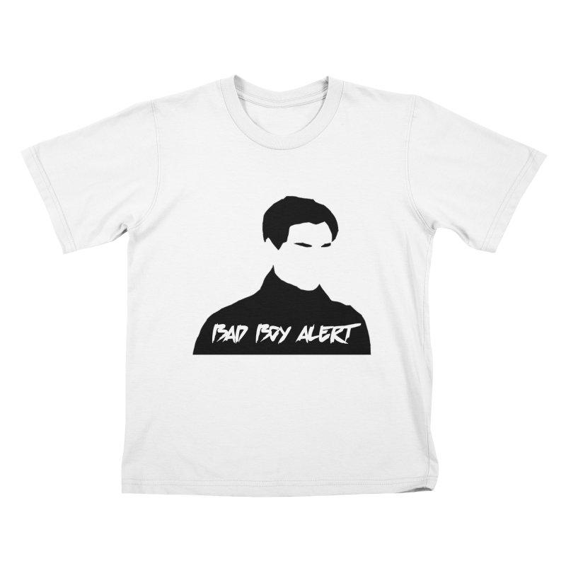 Bad Boy Alert Kids T-Shirt by Comic Book Club Official Shop