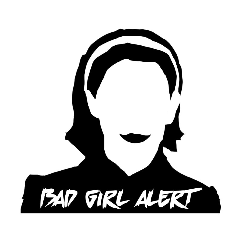 Bad Girl Alert Women's Scoop Neck by Comic Book Club Official Shop