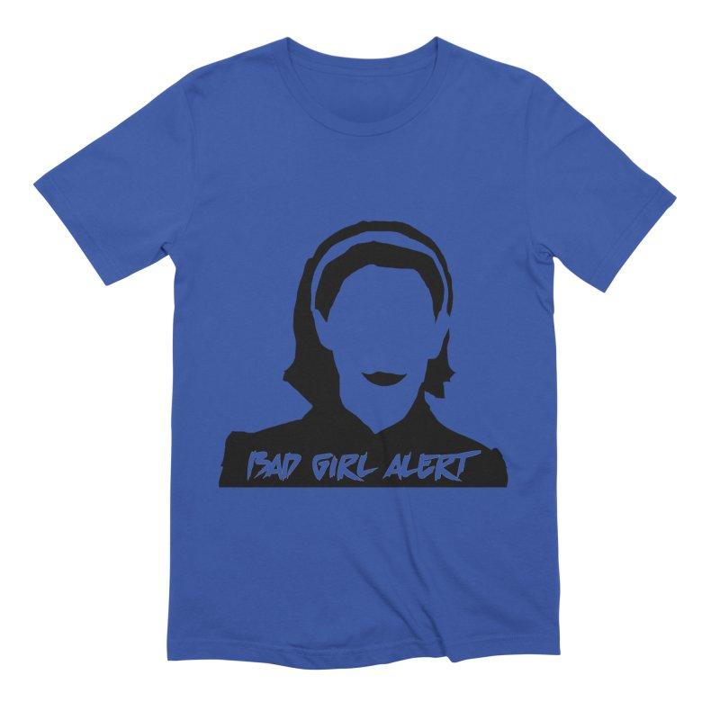 Bad Girl Alert Men's T-Shirt by Comic Book Club Official Shop