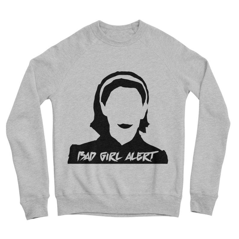 Bad Girl Alert Men's Sponge Fleece Sweatshirt by Comic Book Club Official Shop