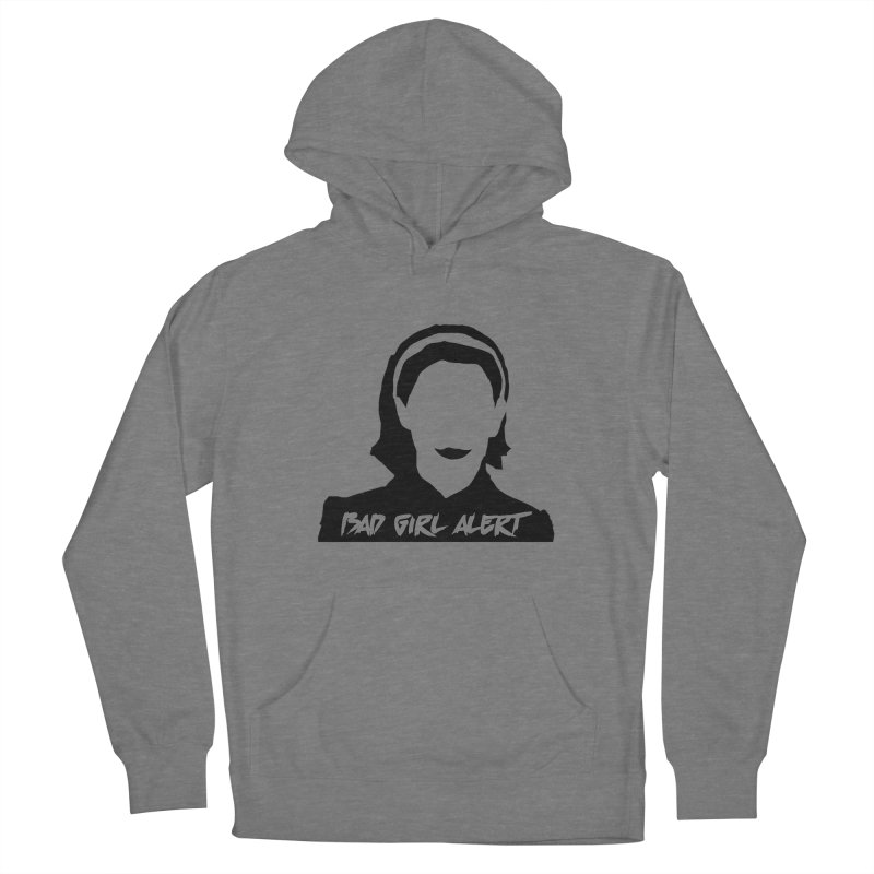 Bad Girl Alert Women's Pullover Hoody by Comic Book Club Official Shop