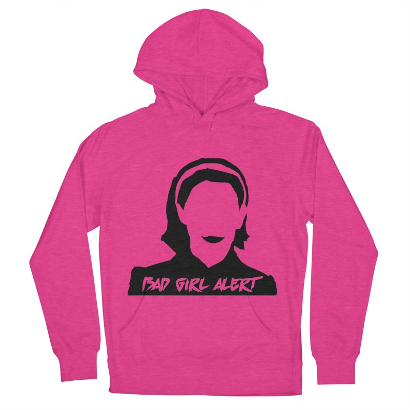 Bad Girl Alert Men's French Terry Pullover Hoody by Comic Book Club Official Shop