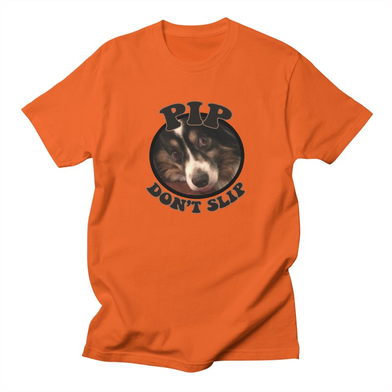 Pip Don't Slip Men's Regular T-Shirt by Comic Book Club Official Shop