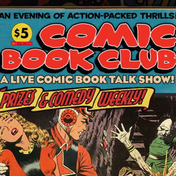 Comic Book Club Official Shop Logo