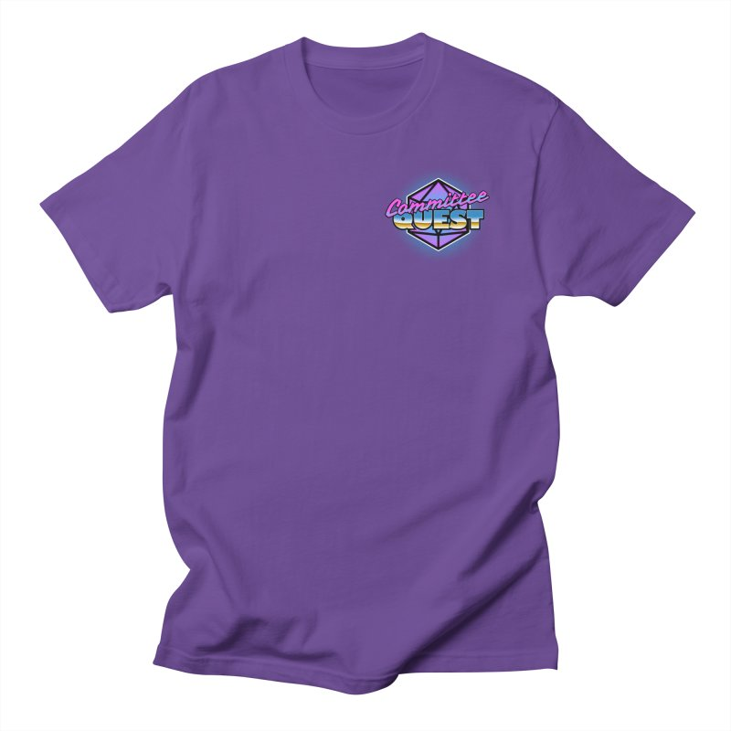 Committee Quest Logo in Women's Regular Unisex T-Shirt Purple by committeequest's Artist Shop