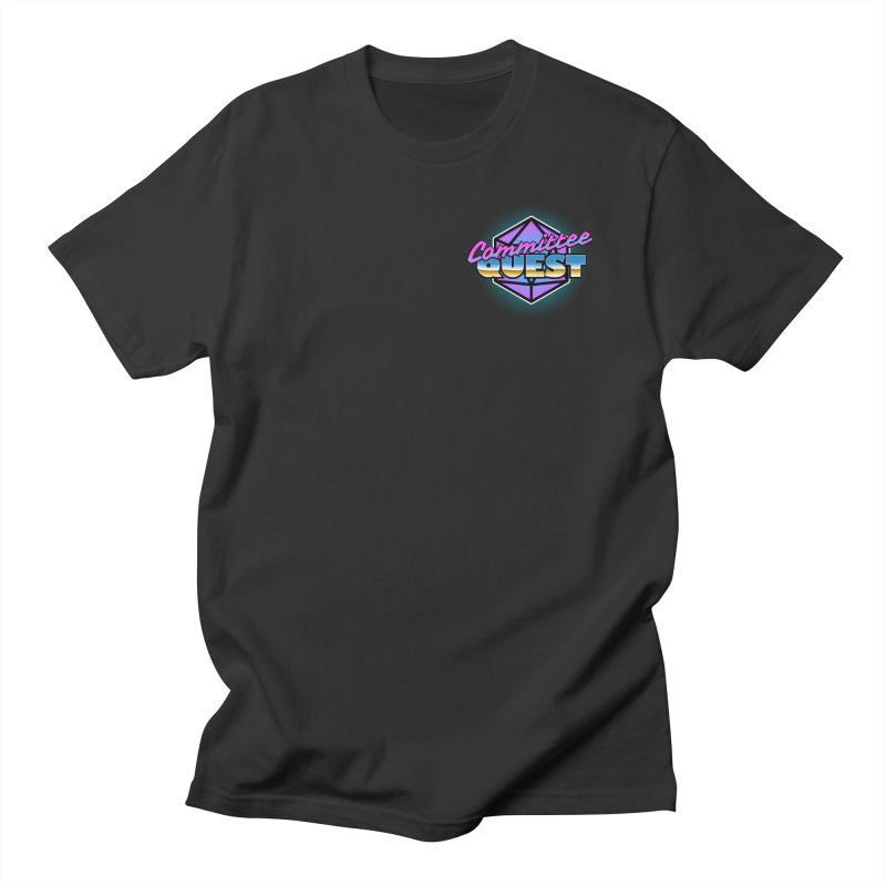 Committee Quest Logo in Men's Regular T-Shirt Smoke by committeequest's Artist Shop