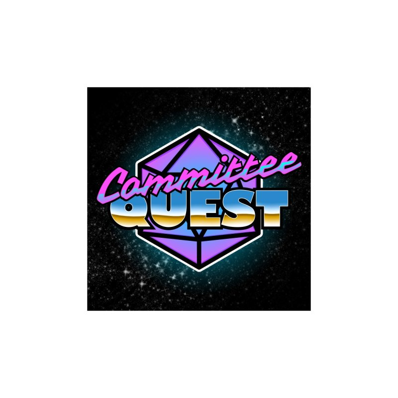Committee Quest in the Stars Accessories Sticker by committeequest's Artist Shop