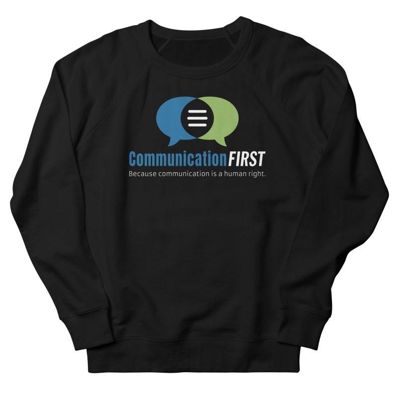 Logo Original on Black Men's Sweatshirt by CommunicationFIRST's Artist Shop