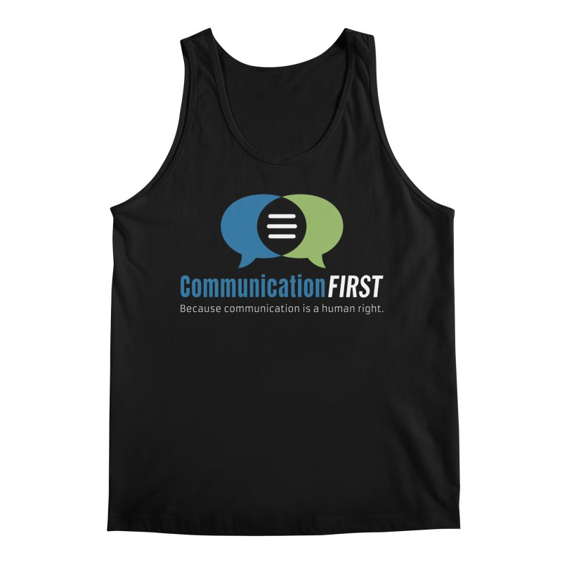 Logo Original on Black Men's Tank by CommunicationFIRST's Artist Shop