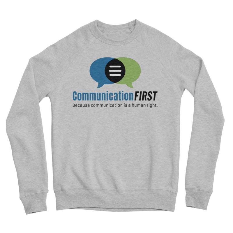 Logo Original Men's Sweatshirt by CommunicationFIRST's Artist Shop