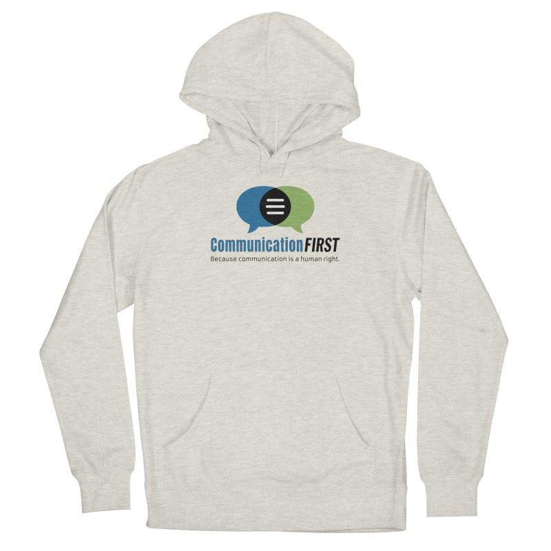 Logo Original Men's Pullover Hoody by CommunicationFIRST's Artist Shop