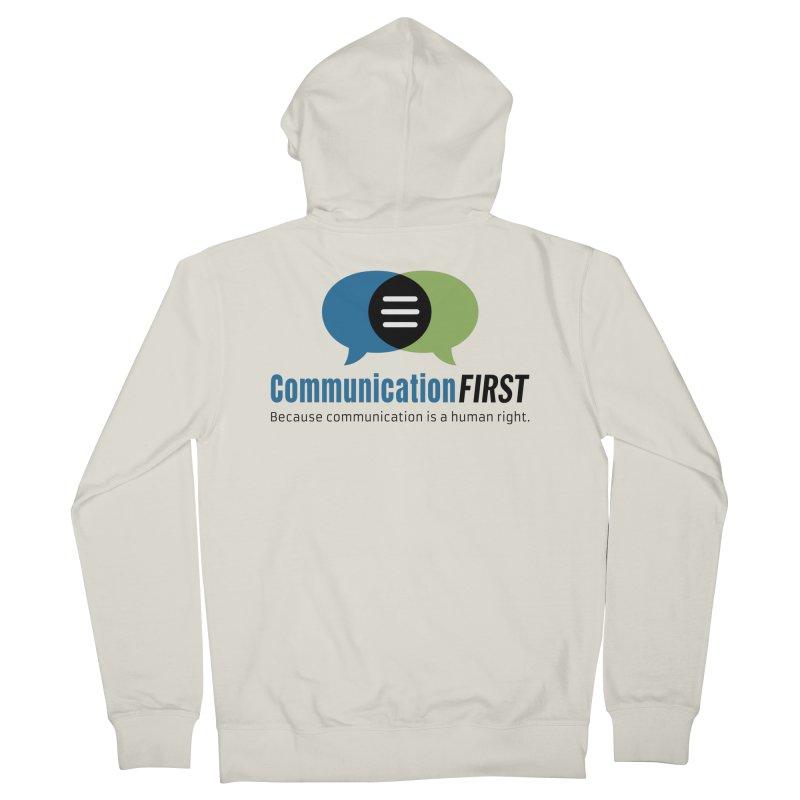 Logo Original Women's Zip-Up Hoody by CommunicationFIRST's Artist Shop