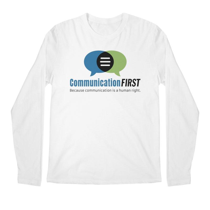 Logo Original Men's Longsleeve T-Shirt by CommunicationFIRST's Artist Shop